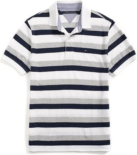 Tommy Hilfiger pánské polo tričko REGULAR FIT MULTI STRIPE - Glami.cz 4c14dc54ec