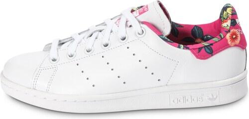 adidas Baskets/Tennis Stan Smith Floral Blanche Femme