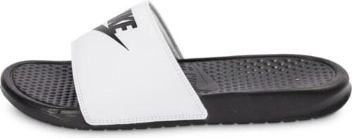 410068d66bf Nike Benassi Tongs style mules 312618-011 Noir ...
