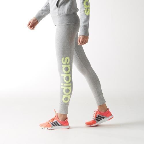 Dámské legíny Adidas Essentials Linear Tight XS ŠEDÁ - ŽLUTÁ - Glami.cz d2c054aa61e