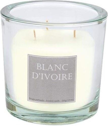 Blanc d 39 ivoire l 39 orientale bougie transparent - Blanc comme l ivoire ...