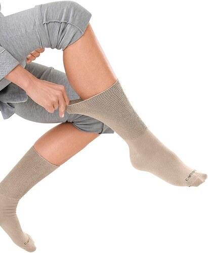 Große Größen: Socken (2 Paar), beige, Gr.35-38-43-46