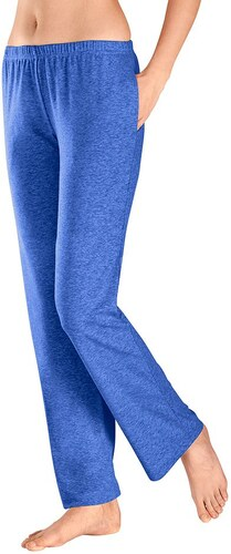 Große Größen: Hosen in weich fließender Qualität (2 Stck.), royalblau, Gr.36/38-52/54