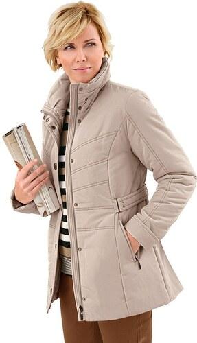 Große Größen: Collection L. Jacke aus pflegeleichter Microfaser, sand, Gr.36-54