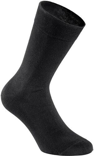 Große Größen: Damen-Socken (6 Paar), schwarz, Gr.35-38-39-42