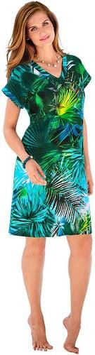 Große Größen: Strandkleid, grün, Gr.38-52
