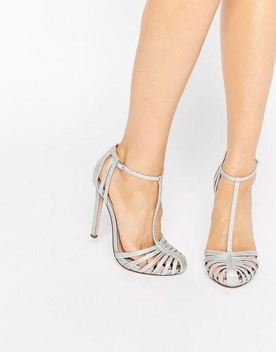 ASOS PEACE Chaussures à talons Argenté hauts ajourées Argenté talons 370645