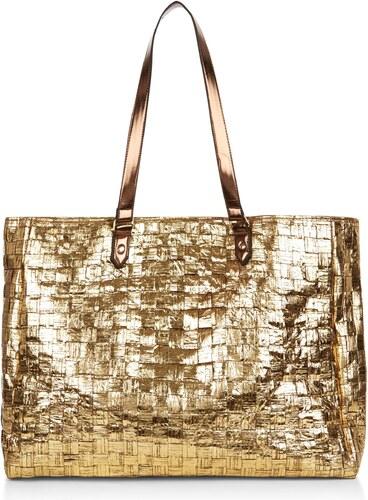 ELISE RYAN Extravagantní zlatá taška s lesklým dekorem - Glami.cz 5794b2eb8a5