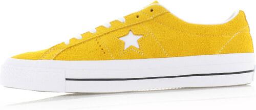 Converse Pánske žlté nízke tenisky Chuck Taylor One Star Skate ... feecf072f89