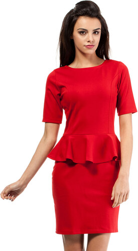 6b96e8d30780 Červené šaty MOE 014 - Glami.sk