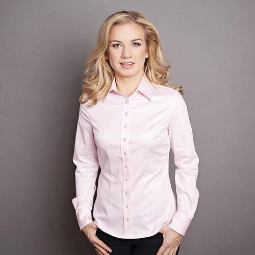 Dámská košile Willsoor růžová 2235