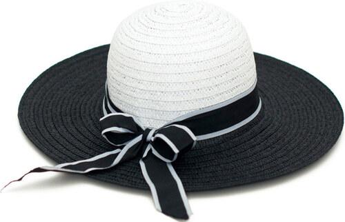 6ea1de8a402 Art of Polo Dámský černobílý letní klobouk cz16113.3 - Glami.cz