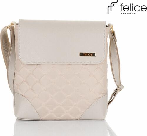dámska krémová kabelka Felice Clutch (A01) odtiene farieb  béžová ... 687988a14ed