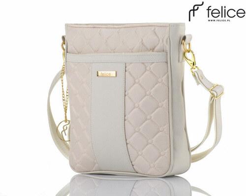 dámska krémová kabelka Felice Aurora (A02) odtiene farieb  béžová ... 133f475db52