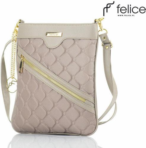 Dámská krémová kabelka Felice Aurora (A07) odstíny barev  Béžová ... d729b7f01ac