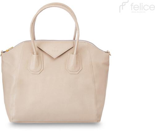 FELICE dámska béžová kabelka Dublin odtiene farieb  béžová - Glami.sk 2c79124d812