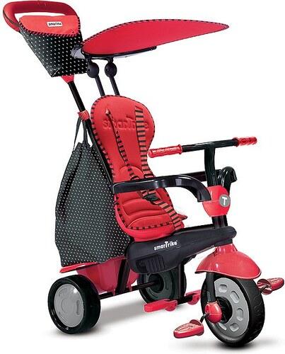 SmarTrike® Dreirad mit abnehmbarem Sonnenschutz, »Glow Touch Steering® 4 Trikes in 1 rot«