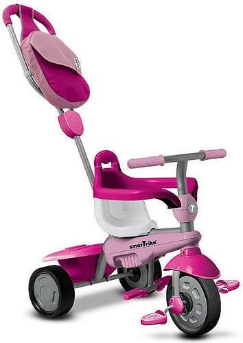SmarTrike® Dreirad mit Stoßdämpfer, »Breeze GL Touch Steering® 3 Trikes in 1, pink«
