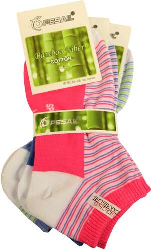 d21ad522c0a Pesail Dámske členkové ponožky 3 páry - Glami.sk