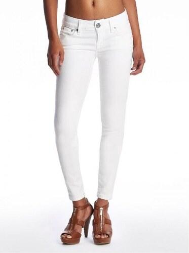 Guess Dámské džíny SARAH skinny jeany IN barva bílá WASH - barva bílá c4e2662f2e