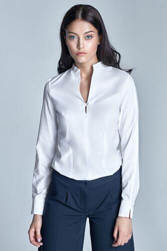 b2286e50311a Nife Biela košeľa K48 - Glami.sk