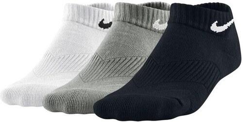 NIKE2 Ponožky Nike Cushion (3 páry) M (38-42) ČERNÁ - VÍCE BAREV ... 9639a931f2