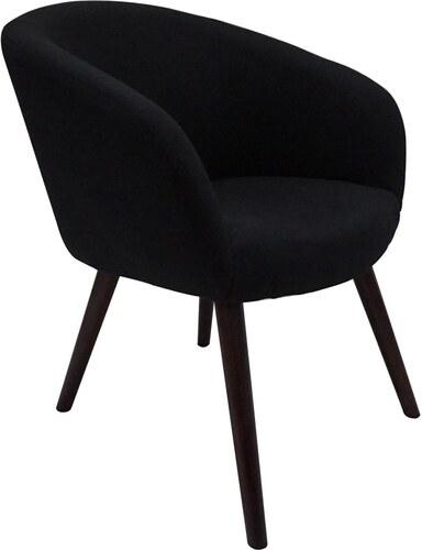 potiron copenhague fauteuil noir. Black Bedroom Furniture Sets. Home Design Ideas
