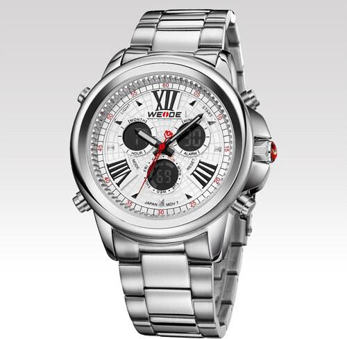 Weide Pánské hodinky Modify stříbrné - Glami.cz 973526b179