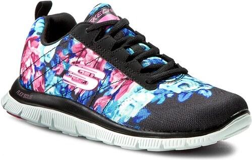 Cipők SKECHERS - Flex Appeal 12448 BKMT Wildflowers - Glami.hu 9d9f4fb309