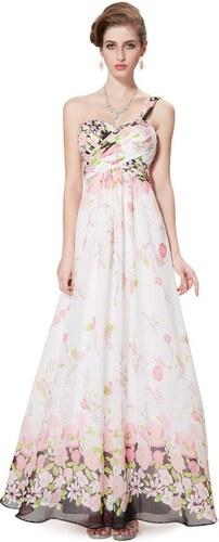 Ever Pretty letní květinové dlouhé šaty 8394 - Glami.cz b8c04380e5