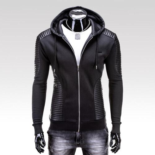 Ombre Clothing Pánská mikina Loras černá - Glami.cz 776162f0a8