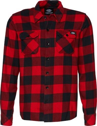 DICKIES Košile  Sacramento  červená   černá - Glami.cz fb5747159e
