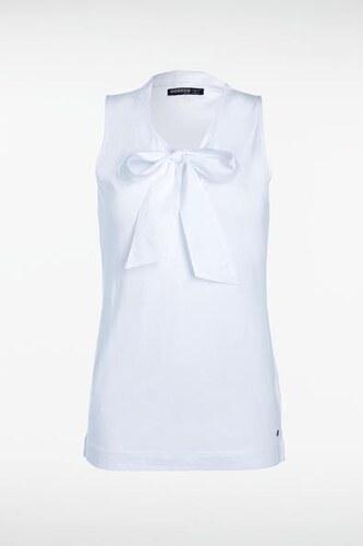 Top femme blanc coton   Traversee montbeliard 947de52c5d2b