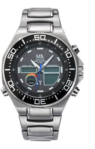 6324c1512f5 World-Timer-hodinky rádiem řízené Meister Anker černá - Glami.cz