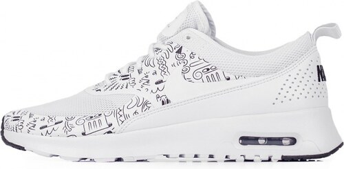 9005bb97354 Sneakers - tenisky Nike Air Max Thea Print WHITE WHITE-BLACK - Glami.cz