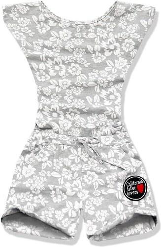 Overall grau weiß 9685