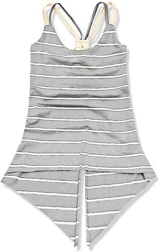 Top grau weiß 1379