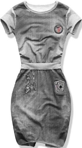 Kleid grau 1789-6
