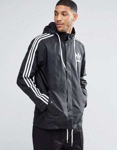 Adidas originals adicolour ay7928 veste coupe vent noir - Veste coupe vent adidas femme ...