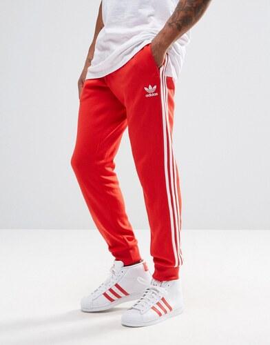 pantalon adidas original rouge