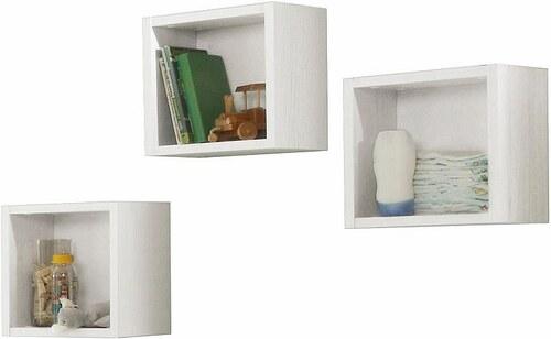 Hängeregal-Set (3-tlg) passend zu den Babymöbel Serien Ziggo, Danny und Granny, in anderson pine