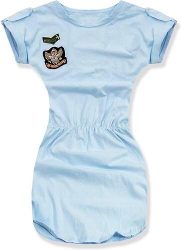 Kleid baby blau 4579