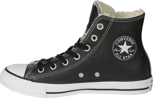 Converse černé pánské boty Chuck Taylor All Star Black White kotníkové 2849664e61