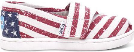 a939810361a -5% Toms americké dětské boty Classic Americana Canvas Flag - 24