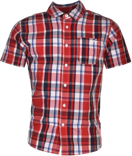 30f21b202f53 Pánská košile Lee Cooper kostkovaná - červená - Glami.cz