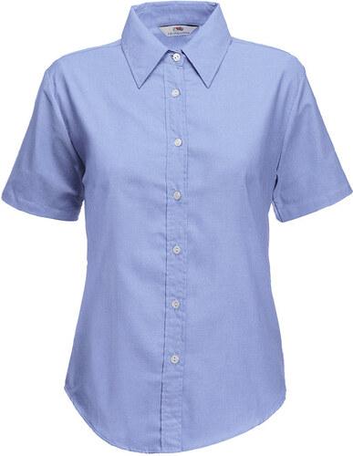 Fruit of the Loom Dámská košile Oxford s krátkým rukávem - Glami.cz 4ed6a6733d