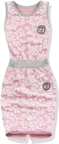 Kleid pink 1780-1