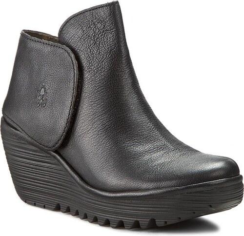 a37a95273bb Členková obuv FLY LONDON - Yogi P500046008 Black - Glami.sk