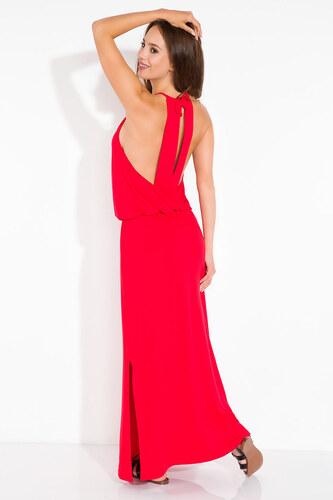 Červené šaty Fimfi I102 - Glami.sk 6cce22cc124