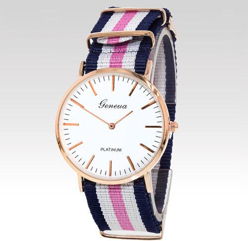 Geneva Analogové hodinky Sailor růžové - Glami.cz f1c5f990a4c